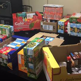 Food and Cold Weather Donation Drives